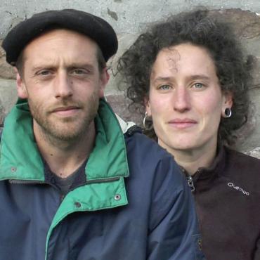 Perrine Decarsin et Bastien Cecchetto