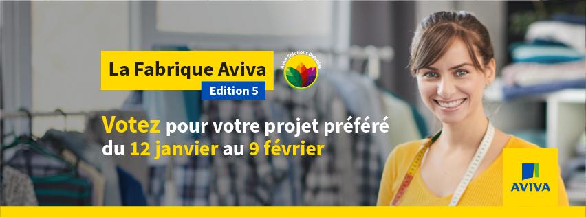 Fabrique AVIVA – Votez!